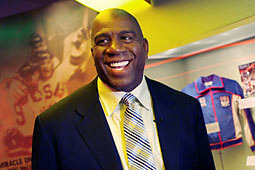 Source Magic Johnson Wins Turf War with Jim Buss over Firing of Brown