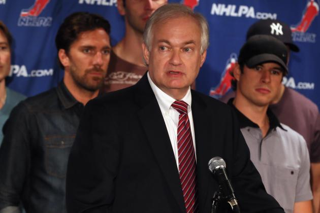 NHL Lockout: NHL Says Donald Fehr Only Reason Deal with Players Not Done