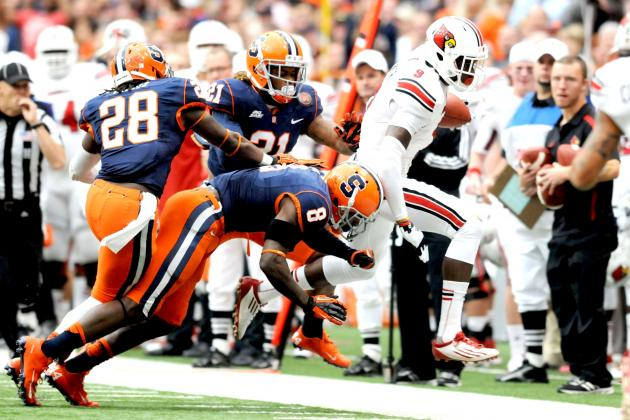 Syracuse Stuns No. 9 Louisville 45-26