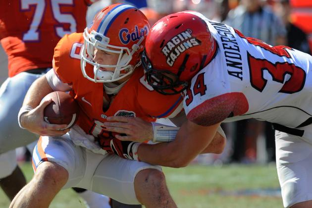 No. 6 Florida Survives Upset Bid from Louisiana Lafayette in 27-20 Win