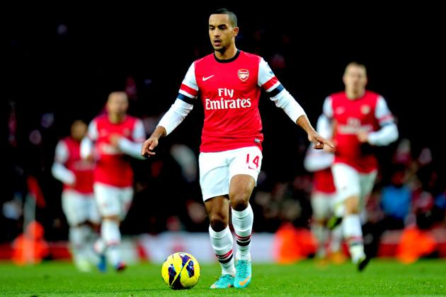 Theo Walcott Injury: Updates on Arsenal Star's Glute