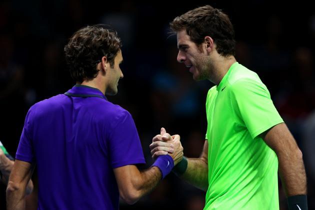 Del Potro Upends Federer, Reaches ATP Semis