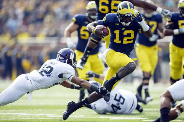 Northwestern vs. Michigan: What Devin Gardner Almost Giveth Away, He Taketh Back