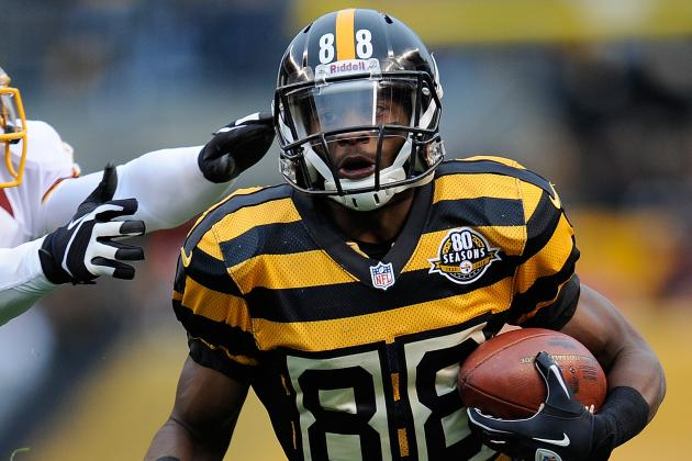 Steelers WR Sanders to Appeal Fine for Fake Injury