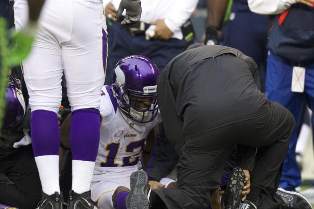 Percy Harvin Injury: WR's Absence Will Help Minnesota's Run Game