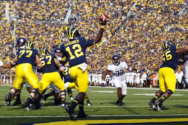 Michigan Football: If Denard Is Healthy, Should Brady Hoke Keep Gardner at QB?