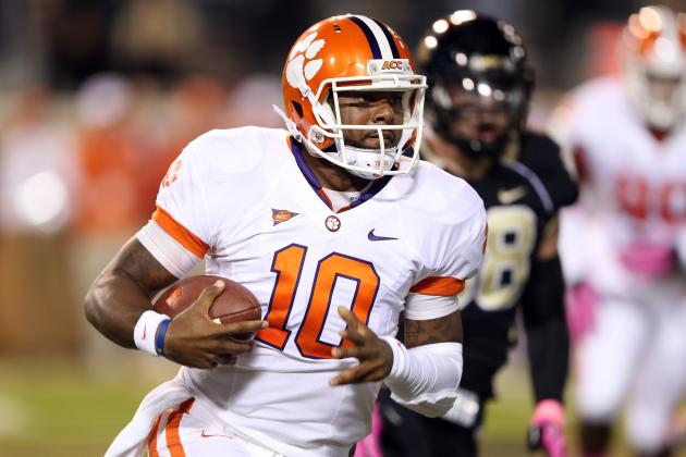 Tajh Boyd's Feet Key in Avoiding Sophomore Slump and Another November Slide
