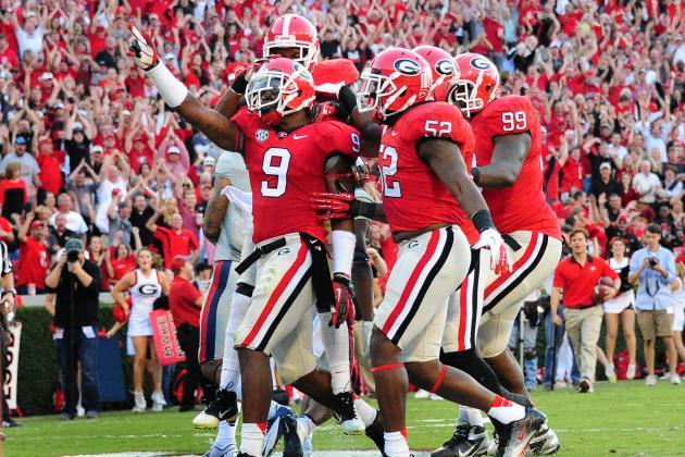 ESPN Gamecast: Georgia vs Auburn
