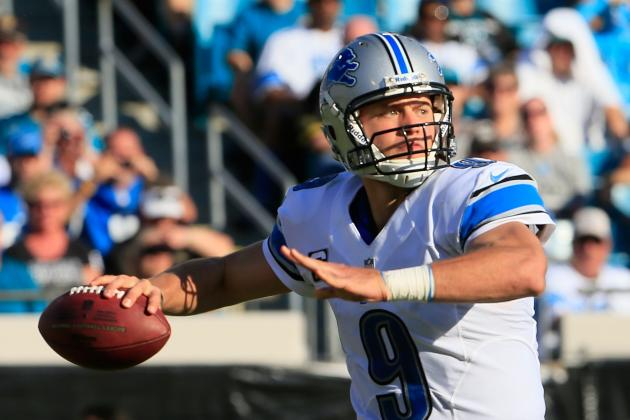 Detroit Lions' Fate Tied to Matthew Stafford's Arm, Not Running Game
