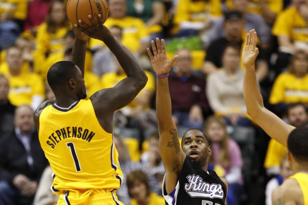 Lance Stephenson in Starting Lineup Tonight vs. Wizards