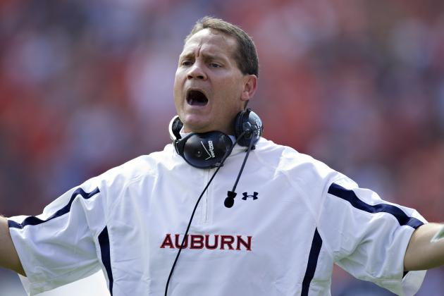 Gene Chizik: Big Win over Georgia Wouldn't Save Auburn Head Coach's Job