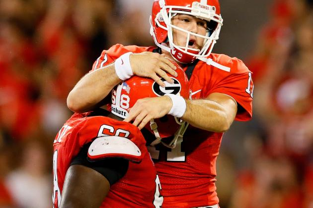 Storylines: New Starting Lineup for UGA Offensive Line Versus Auburn