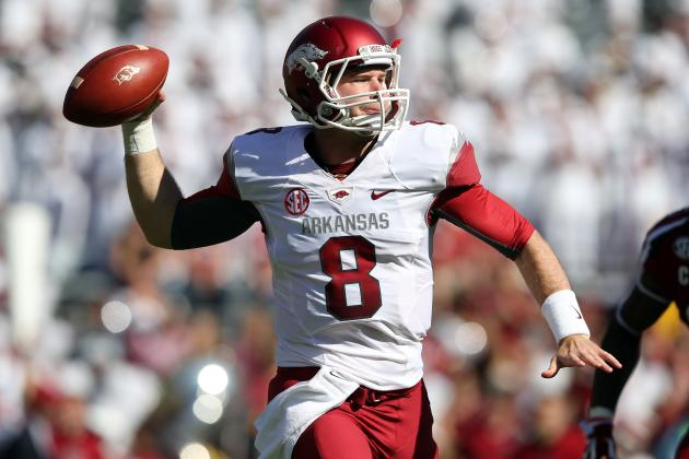 Arkansas Football: How Far Has Tyler Wilson's NFL Draft Stock Fallen?