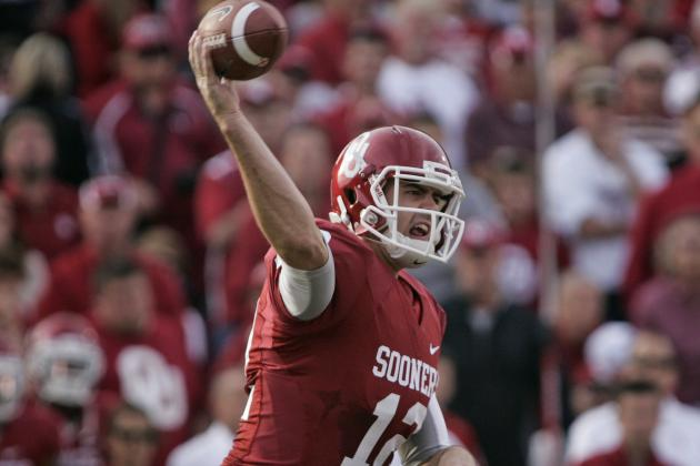 Jones Throws 2 TDs as Oklahoma Beats Baylor