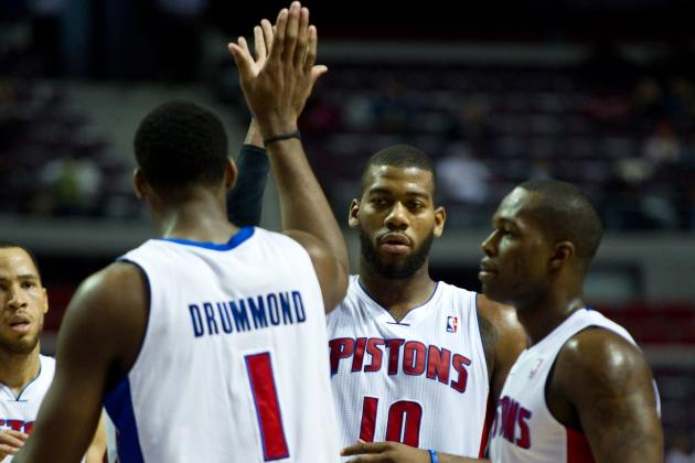 NBA Gamecast: Pistons vs. Rockets