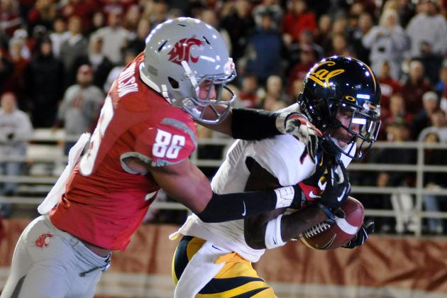 Marquess Wilson Leaves Washington State Football Team
