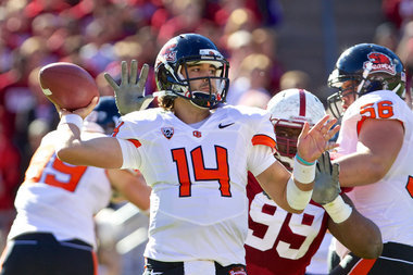 Storybook Ending Does Not Come for Oregon State and Sean Mannion