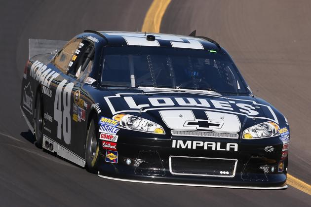 Kobalt Tools 500 2012: Jimmie Johnson Set to Continue Streak in Phoenix