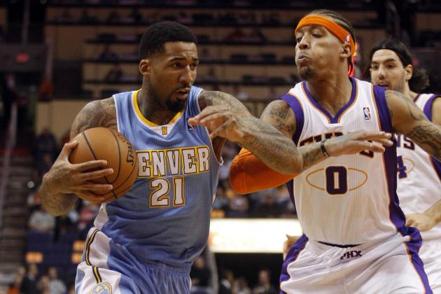 Wilson Chandler out Tonight vs Warriors