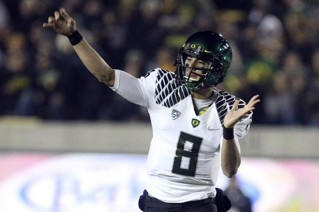 Marcus Mariota Injury: Updates on Oregon QB's Arm