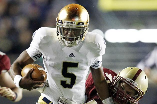 Notre Dame Football: Irish Remain Unbeaten While Lulling Boston College to Sleep