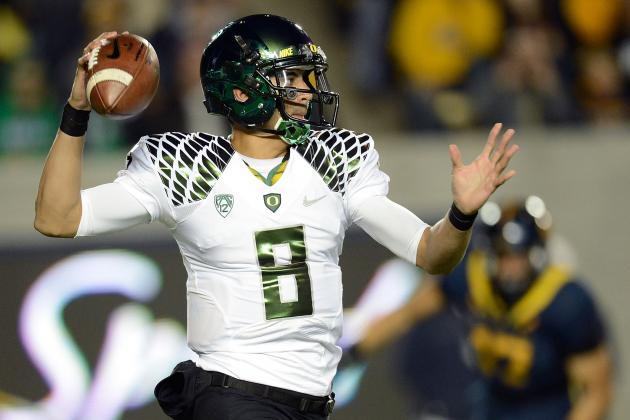 Oregon vs. Cal: Ducks Clear-Cut No. 1 After Cruising to Victory