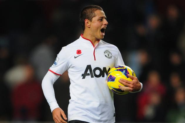 Javier Hernandez Gave a Master Class in Forward Movement Against Villa
