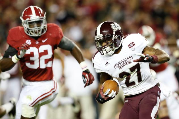 Notebook: Injured Mississippi State RB Perkins Misses Game