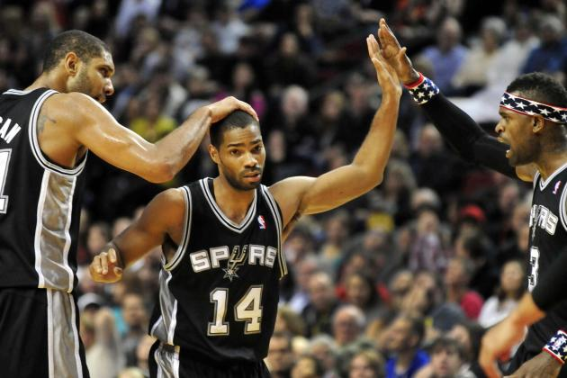 Neal brings Spurs back in victory over Trail Blazers