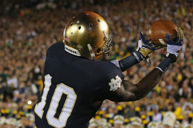 Irish WR to Miss Rest of Regular Season?