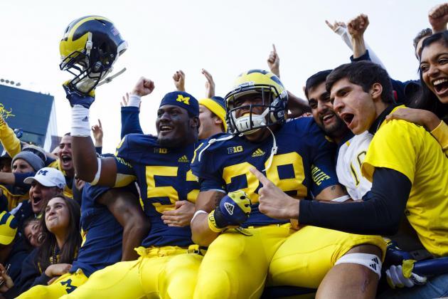 Devin Gardner's Emergence Keeps Michigan in Big Ten Hunt
