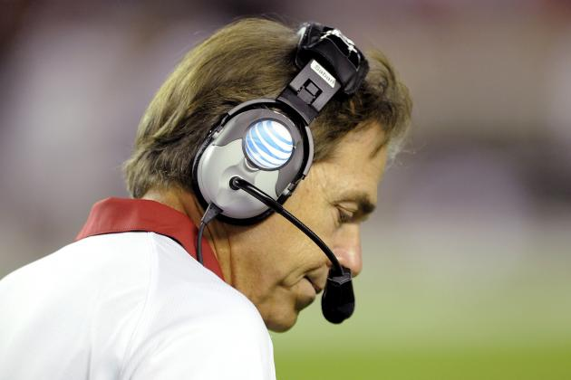 Saban: 'We Just Couldn't Get the Mental Energy, Intensity We Needed'