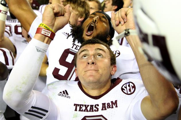 Manziel Earns Walter Camp National Honors