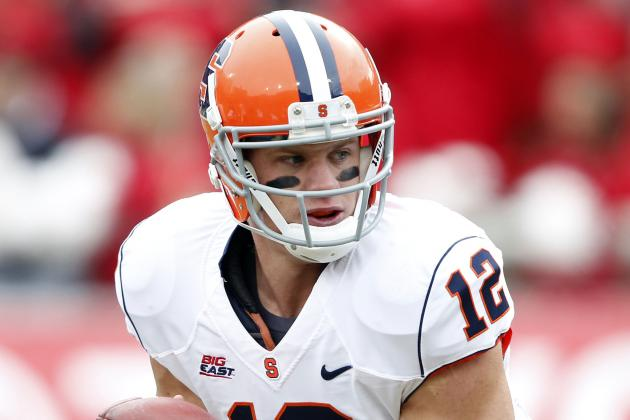 Syracuse Football Quarterback Ryan Nassib Goes out in Style