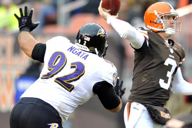 Ngata, Yanda Playing for Ravens