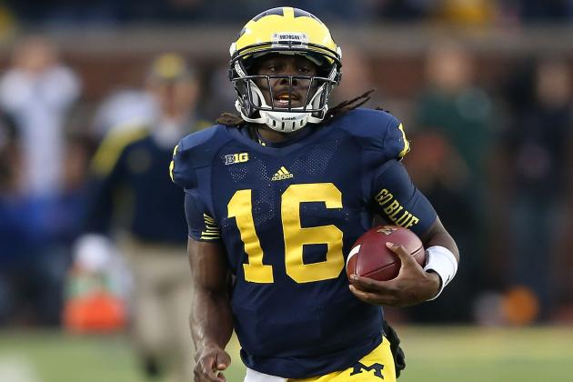 Michigan Football: Why Denard Robinson's Time as a Starter Should Be Over