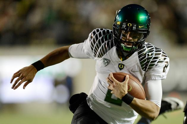 Oregon Football: Why the Cal Game Should Give Mariota Heisman Recognition