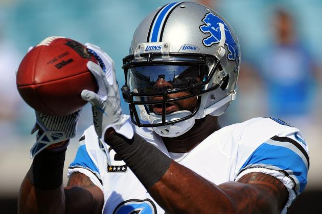 Calvin Johnson in for Lions, Percy Harvin out for Vikings