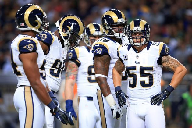 Rams' Laurinaitis Expecting New Wrinkles on 49ers' Offense
