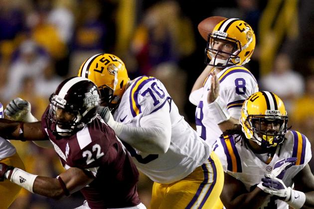 LSU Passing Game Stands out Yet Again