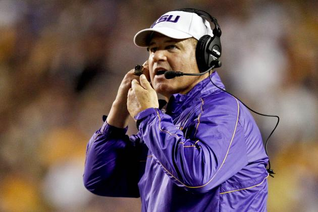 Les Miles Celebrates 59th Birthday by Tying LSU Milestone