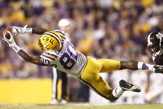 LSU's Jarvis Landry Emerges as Tigers' Go-to Receiver Against Mississippi State