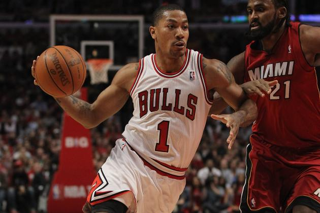 Derrick Rose: Bulls Star Must Be Wary of Adrian Peterson's Recovery Advice