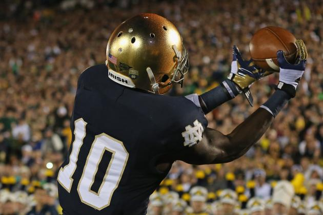 Notre Dame WR Daniels out Until Bowl After Clavicle Surgery