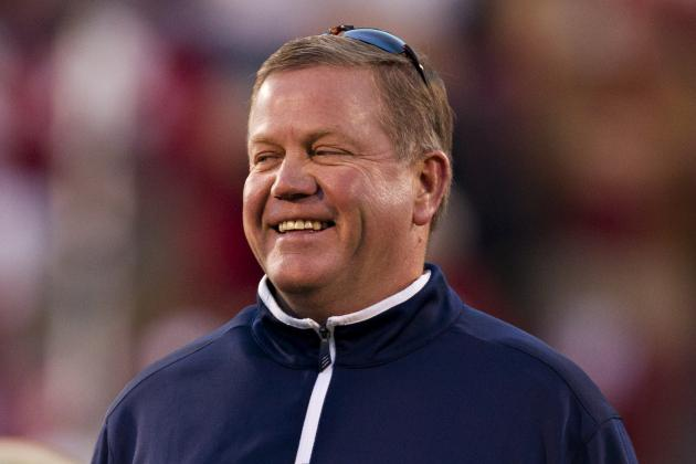 Kelly Votes Notre Dame No. 1 in Coaches Poll