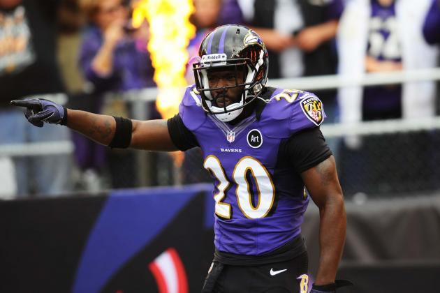 Ed Reed Done for Game with Shoulder Injury