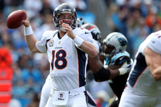 Denver Broncos vs. Carolina Panthers: Live Score, Highlights and Analysis