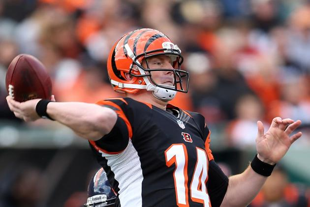Dalton throws 4 TDs as Bengals drub Giants