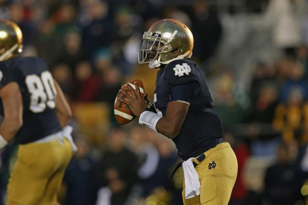 Notre Dame Football: Offense Must Improve for Irish to Win BCS National Title