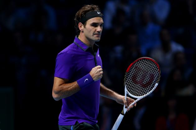 Roger Federer Defeats Andy Murray in 2012 ATP World Tour Finals Semis